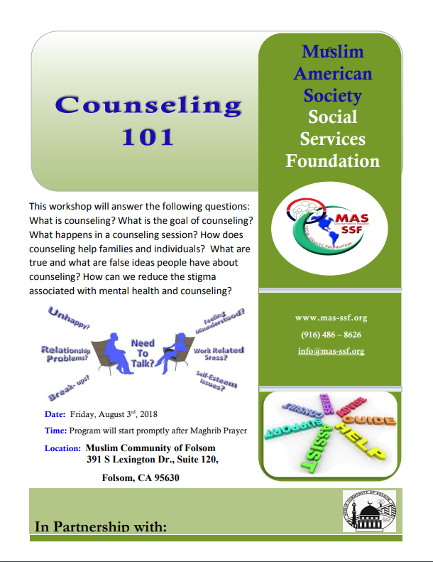 Counseling flyer 101