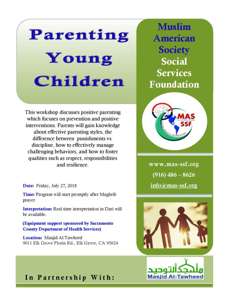 Parenting Young Children Workshop