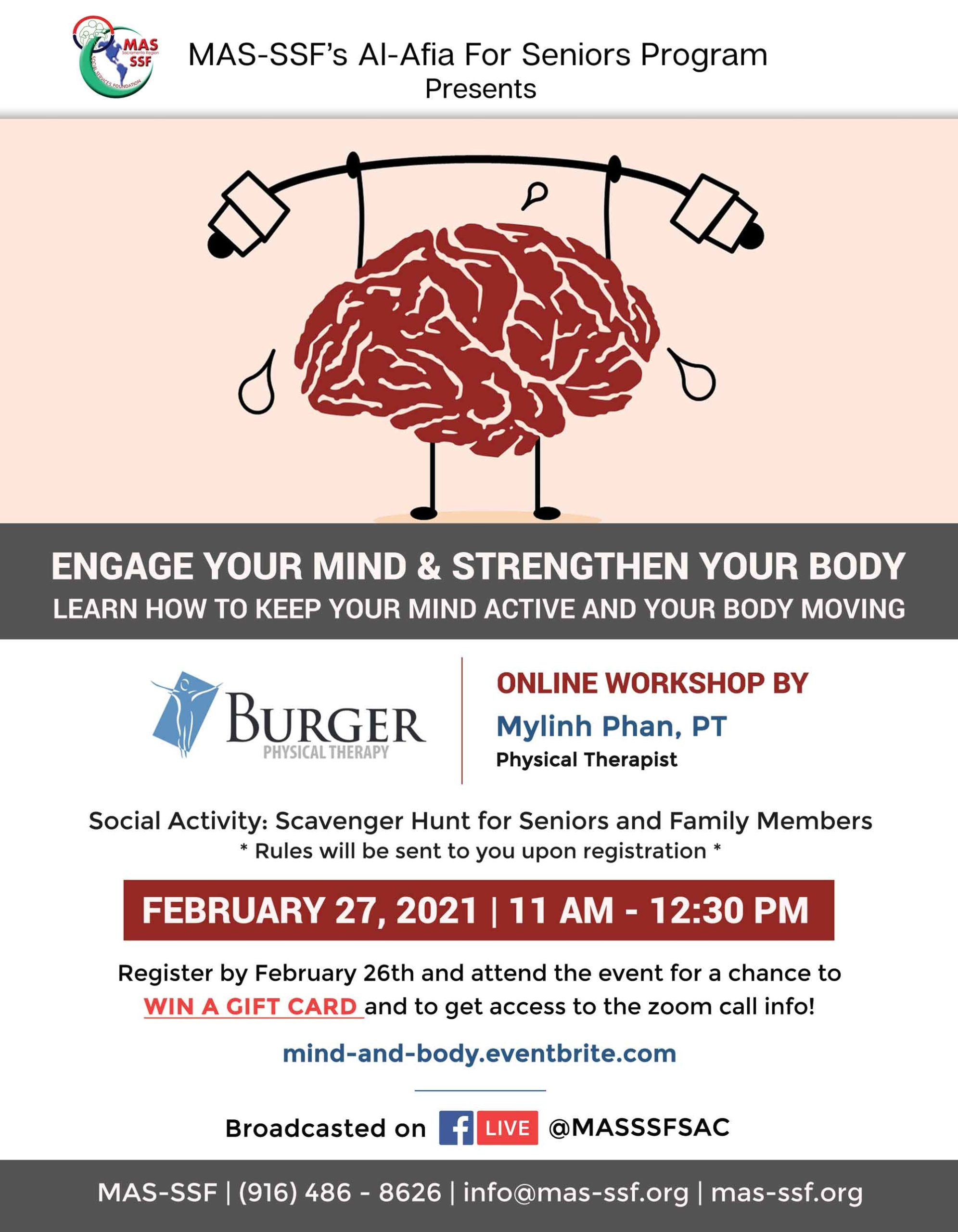 Engage Your Mind & Strengthen Your Body